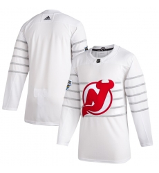 Devils Blank White 2020 NHL All Star Game Adidas Jersey