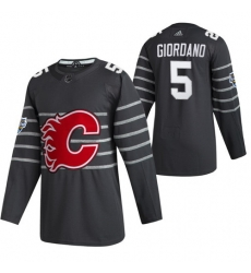 Flames 5 Mark Giordano Gray 2020 NHL All Star Game Adidas Jersey