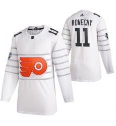 Flyers 11 Travis Konecny White 2020 NHL All Star Game Adidas Jersey
