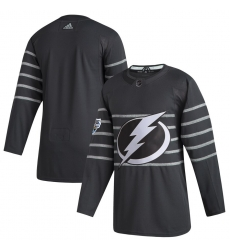 Lightning Blank Gray 2020 NHL All Star Game Adidas Jersey
