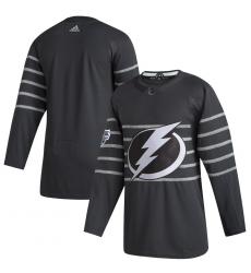 Lightning Blank Gray 2020 NHL All Star Game Adidas Jersey