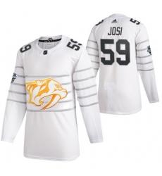 Predators 59 Roman Josi White 2020 NHL All Star Game Adidas Jersey