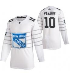 Rangers 10 Artemi Panarin White 2020 NHL All Star Game Adidas Jersey