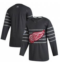 Red Wings Blank Gray 2020 NHL All Star Game Adidas Jersey