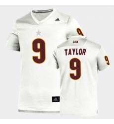 Men Arizona State Sun Devils D.J. Taylor Replica White Football Jersey