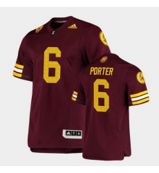 Men Arizona State Sun Devils Geordon Porter Premier Maroon Football Jersey