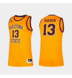 Men Arizona State Sun Devils James Harden Alumni Gold Classic Jersey