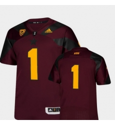 Men Arizona State Sun Devils Maroon College Football Premier Jersey