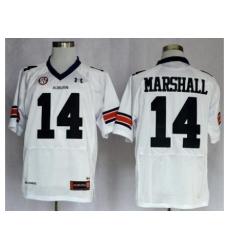 Auburn Tigers 14 Nick Marshall White College Football NCAA Jerseys