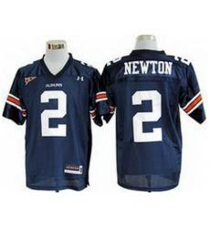 Auburn Tigers 2 Cam Newton Blue College Football NCAA Jerseys