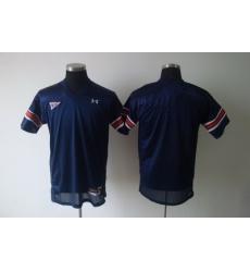 NCAA Auburn tigers bkank blue jersey