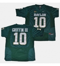 Baylor Bears Robert Griffin Iii College Football Green Jersey