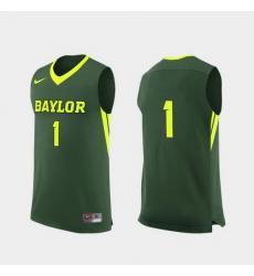 Men Baylor Bears Green Replica College Basketball Nike Jersey
