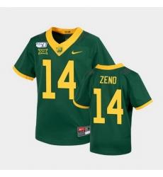 Men Baylor Bears Jacob Zeno Untouchable Green College Football Jersey