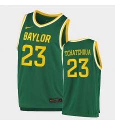Men Baylor Bears Jonathan Tchamwa Tchatchoua Replica Green College Basketball 2020 21 Jersey