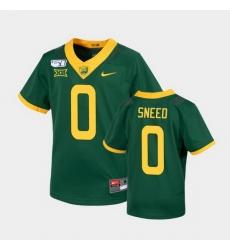 Men Baylor Bears R.J. Sneed Untouchable Green College Football Jersey
