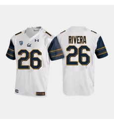 California Golden Bears Bug Rivera College Football White Jersey