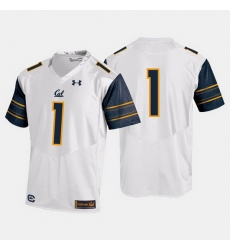 California Golden Bears College Football White Jersey