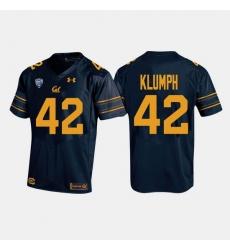California Golden Bears Dylan Klumph College Football Navy Jersey