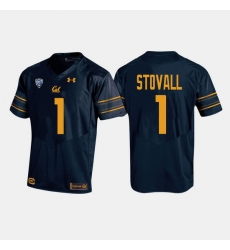 California Golden Bears Melquise Stovall College Football Navy Jersey