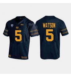 California Golden Bears Tre Watson College Football Navy Jersey