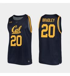 Men California Golden Bears Matt Bradley Replica Navy College Basketball 2019 20 Jersey