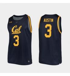 Men California Golden Bears Paris Austin Replica Navy College Basketball 2019 20 Jersey