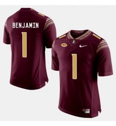 Florida State Seminoles Bkelvin Benjamin College Football Garnet Jersey