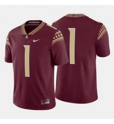 Florida State Seminoles College Football Garnet Jersey