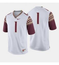 Florida State Seminoles College Football White Jersey