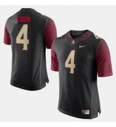 Florida State Seminoles Dalvin Cook Alumni Football Game Black Jersey
