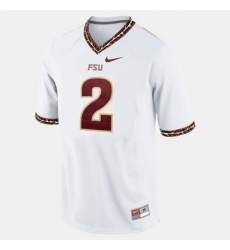 Florida State Seminoles Deion Sanders College Football White Jersey