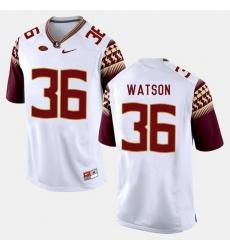 Florida State Seminoles Dekoda Watson College Football White Jersey