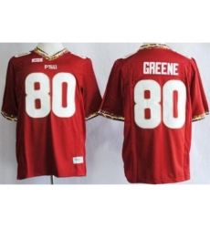 Florida State Seminoles FSU 80 Rashad Greene Red NCAA Jerseys
