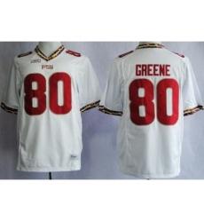 Florida State Seminoles FSU 80 Rashad Greene White NCAA Jerseys