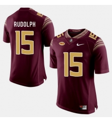 Florida State Seminoles Travis Rudolph College Football Garnet Jersey