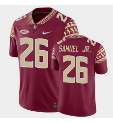 Men Florida State Seminoles Asante Samuel Jr. Game Garnet College Football Jersey