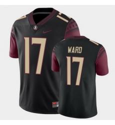 Men Florida State Seminoles Charlie Ward College Football Black Alternate Game Jersey