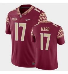 Men Florida State Seminoles Charlie Ward Game Garnet College Football Jersey