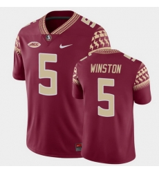 Men Florida State Seminoles Jameis Winston Game Garnet College Football Jersey