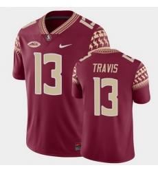 Men Florida State Seminoles Jordan Travis Game Garnet College Football Jersey
