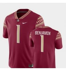 Men Florida State Seminoles Kelvin Benjamin 1 Garnet Game College Football Jersey