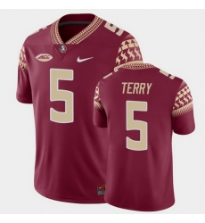 Men Florida State Seminoles Tamorrion Terry Game Garnet College Football Jersey
