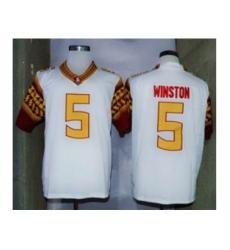 NCAA Florida State Seminoles #5 Winston white[new]