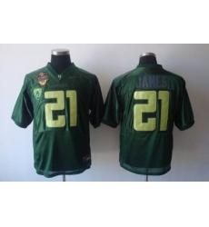 Seminoles #21 Jame green NCAA Jersey