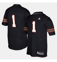 Men Miami Hurricanes 2017 Special Games Black Jersey