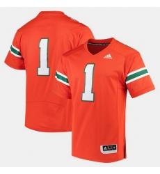 Men Miami Hurricanes 2017 Special Games Orange Jersey