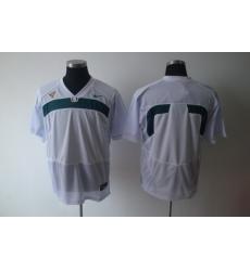 NCAA Miami Hurricanes blank white Jerseys ACC patch