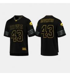 Iowa Hawkeyes College Football Black Jersey