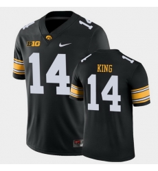 Men Iowa Hawkeyes Desmond King Game Black College Football Jersey